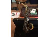 Earlham Alto Saxophone (Bundle - books, cleaning equipment etc)