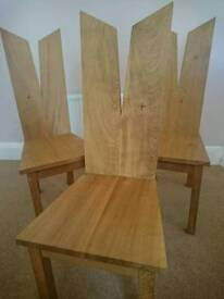 SET OF SIX BESPOKE DINING ROOM CHAIRS