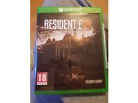 Resident evil 7 xbox one