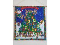 Handmade fabric advent calendars