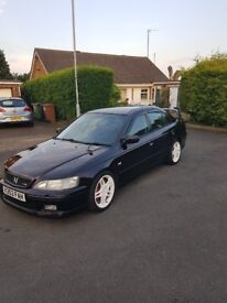 Honda Accord Type R 2.2 H22A7 Pirates Black