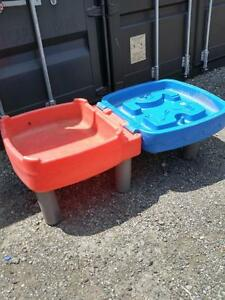 CHILDS DOUBLE PLAY TABLE Sand or Water  Little Tykes  OAKVILLE 905 510-8720