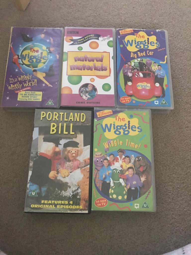 Disney The Wiggles Vhs Videos In Swansea Gumtree
