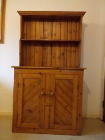 Victorian Solid Pine Farmhouse Country Dresser Welsh Dresser