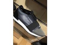 Balenciaga grey with white sole