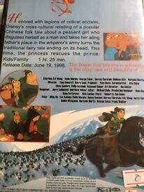 Disney's MULAN Masterpiece Edition DVD