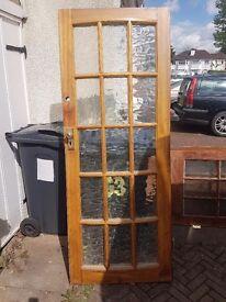 External door with Curved facia