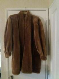 Yves St.Laurent faux fur coat. Exclusive