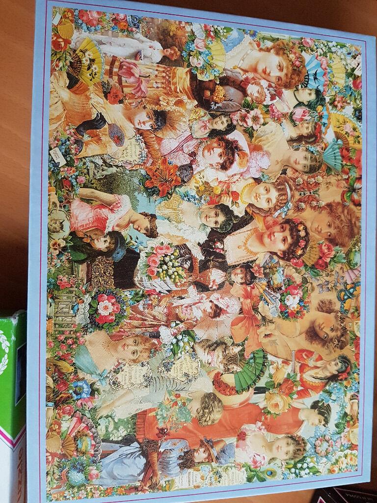 Victorian Beauty Jigsaw Puzzle 1000 Piece