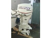 EVINRUDE ETEC 90HP 2006 long shaft out board outboard motor engine boat rib trailer