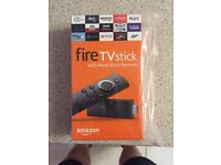 Fire stick with Alex voice remote