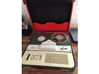 Selection Reel to reel recorders in suitcases for sale antrim