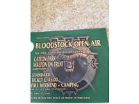 Bloodstock Open Air single ticket with camping - Catton Park Derbyshire
