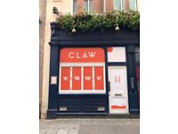 **Sous Chef** WANTED FOR **CLAW**- Sociable, Sustainable Seafood £28-32K