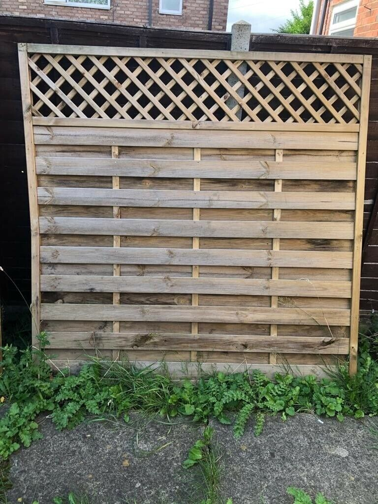 8 decorative fence panels 7ft x 7ft | in West Park, West Yorkshire | Gumtree