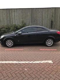 Black Vauxhall Astra Convertible 75K Genuine Miles