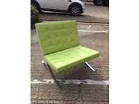 2 x Lounge Chair set (with footstool)