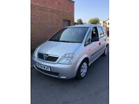 2004 Vauxhall Meriva 1.6 Petrol 12 Months Mot 2 New Tyres Excellent Condition Car