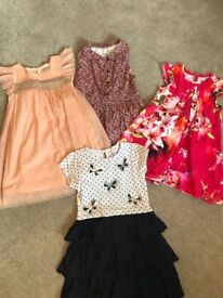 Girls dresses age 4-5