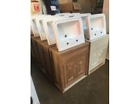 For Sale Brand New John Lewis Basin Units RRP £899