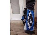 Confidence Power Golf club set with stand in excellent condition + MacGregor Flightmaster 7 club