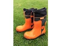 Husqavama chainsaw Boots