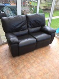 (SOLD) FREE - leather reclining sofas