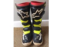 Boys/Youth approx Age 8 Moto X gear Top/Pants Troylee Design plus Tech 6 boots US size 3