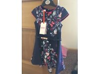 Ted Baker Girls Dress Age 2-3