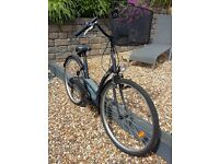 """SOLD - 20"""" Ladies City Bike (Dutch Style with Basket) Excellent Condition"""