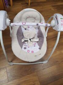 Kindercraft baby swing