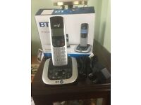 New Single BT 3520 Digital cordless phone with answer machine