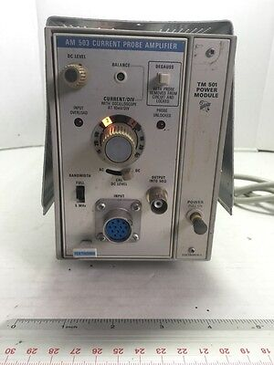 Tektronix Inc. Current Probe Amplifier Am 503 Current Probe Amplifier