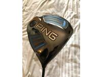 Ping G driver 10.5 stiff excellent condition £150ono