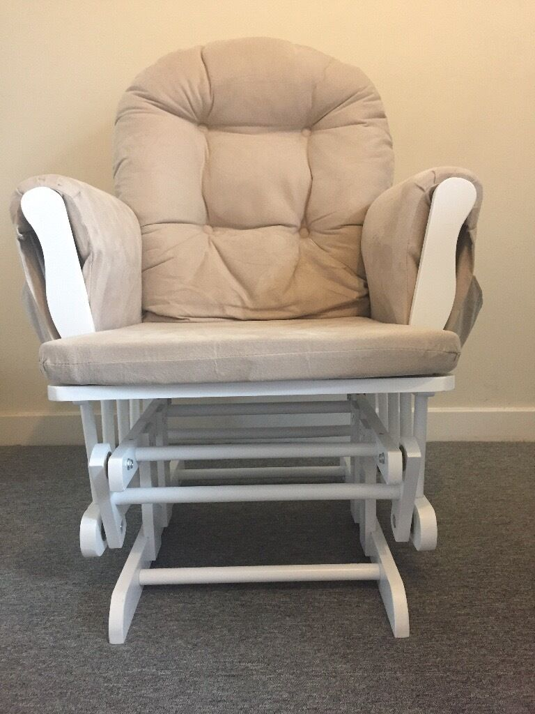 Nearly New Nursing Chair with Foot Rest