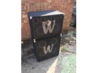 Warwick bass speaker cabinets