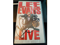 Lee Evans Live from the West End - Signed - VHS