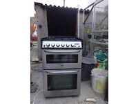 Zanussi Gas Oven with 4 gas burners
