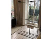Metal wardrobe unit