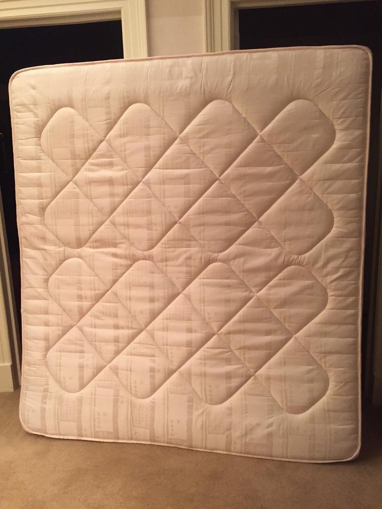 Queen size semi orthopaedic mattress 6ft x 6.5 ft