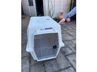 ATA approved dog transport crate