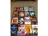 All dvds shown in pictures for sale