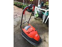 Flymo turbo compact lawn mower