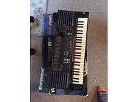 Vintage Yamaha Keyboard 1990s