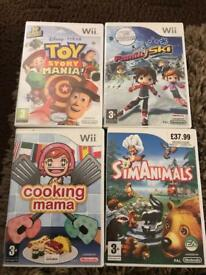 Nintendo Wii Games incl Toy Story