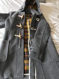Superdry Mens Grey coat size S - never worn