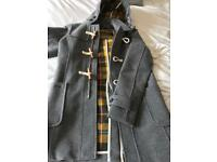 Superdry Mens Grey coat size S - never worn