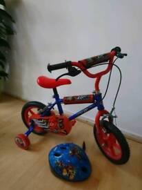 Child's Bike and Helmet