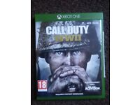 CALL OF DUTY WW11..XBOX ONE..NEW