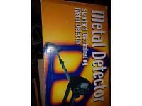 Metal detector precision gold